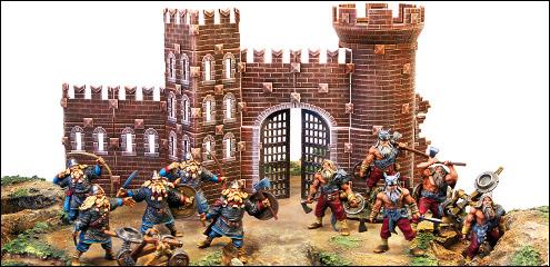 Настольная игра битвы fantasy